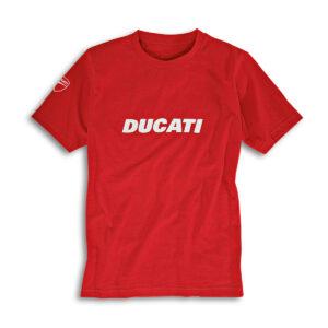 Camiseta ducatiana roja