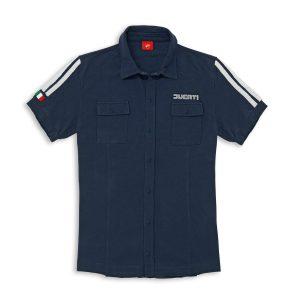 Camisa 80s manga corta
